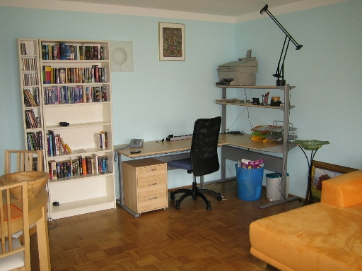 Office in corner